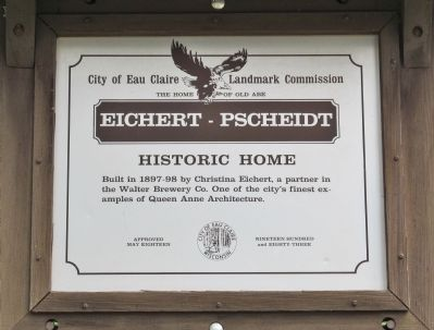 Eichert - Pscheidt Marker image. Click for full size.