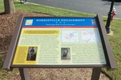 Morrisville Engagement Marker image. Click for full size.