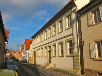 Catholic Rectory - Looking West Along Salzstrasse image. Click for full size.