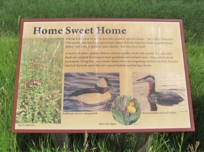 Home Sweet Home Interpretive Panel image. Click for full size.