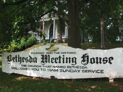 Bethesda Meeting House image. Click for full size.