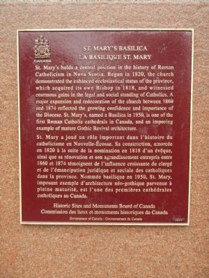 St. Mary's Basilica Marker image. Click for full size.
