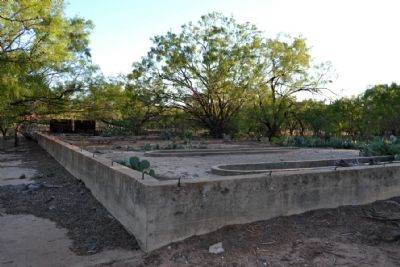 Camp Barkeley Building Foundation image. Click for full size.