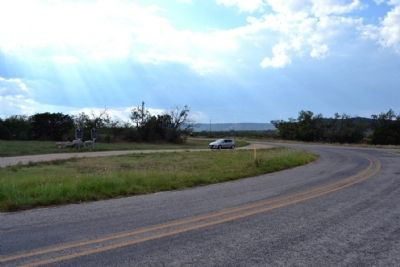 View to Northwest from Farm to Market Road 126 image. Click for full size.