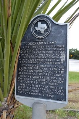 In Vicinity of Coronado's Camp Marker image. Click for full size.