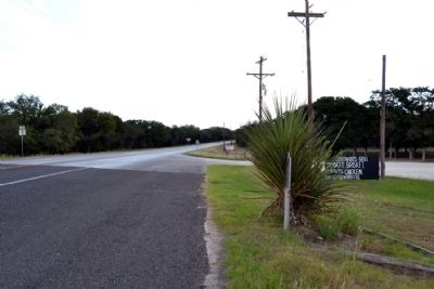 View to Southwest along US 277 image. Click for full size.