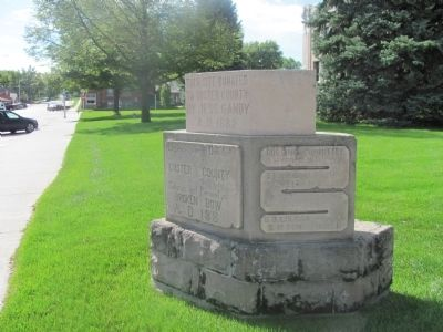 Erected and Donated to Custer County Marker image. Click for full size.