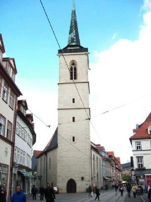 Allerheiligenkirche / All Saints Church and Marker image. Click for full size.