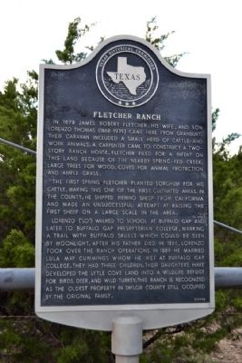 Fletcher Ranch Marker image. Click for full size.
