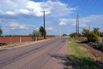 View to East Along County Road 114 image. Click for full size.