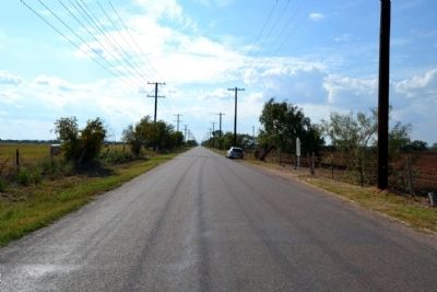 View to West Along County Road 114 image. Click for full size.