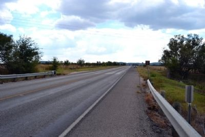 View to South Along US 83 image. Click for full size.