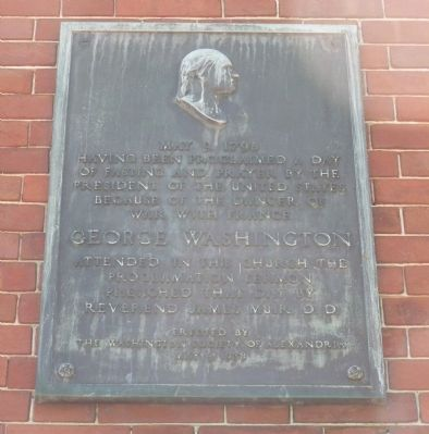 """Old Presbyterian Meeting House"" Marker Panel 2 image. Click for full size."