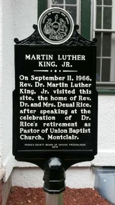 Martin Luther King, Jr. Marker image. Click for full size.
