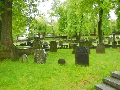 The Old Burying Ground image. Click for full size.