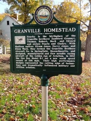 Granville Homestead Marker image. Click for full size.