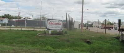 Arcadia, a town with a sense of humor. image. Click for full size.