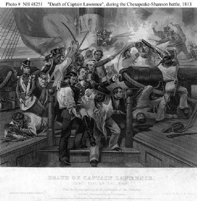 The death of Capitan Lawrence. image. Click for full size.