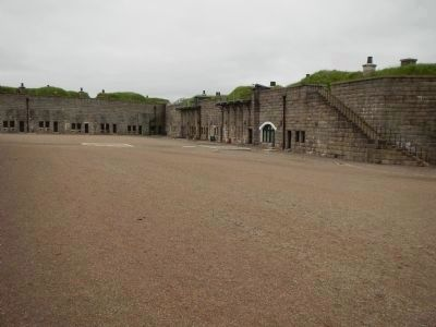 Halifax Citadel Parade Grounds image. Click for full size.