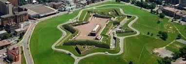 Halifax Citadel - Aerial View image. Click for full size.