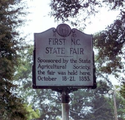 First N.C. State Fair Marker image. Click for full size.