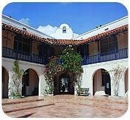 Cushman School courtyard image. Click for full size.