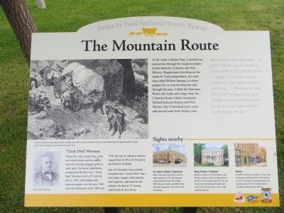 The Mountain Route Marker image. Click for full size.