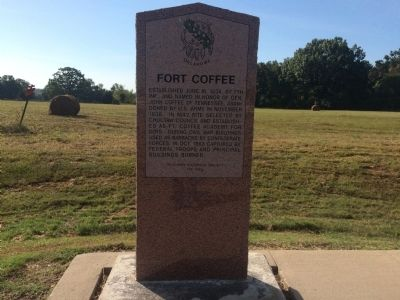 Fort Coffee Marker image. Click for full size.