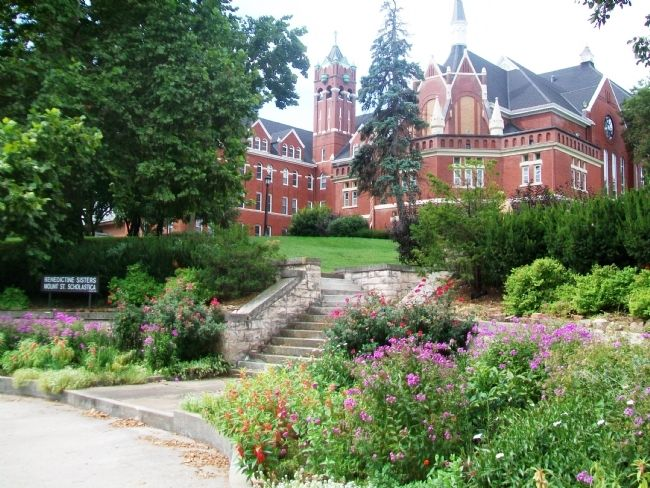 Mount Saint Scholastica Monastery Grounds image. Click for full size.