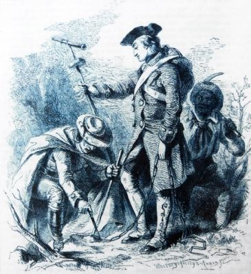 George Washington as Surveyor image. Click for full size.