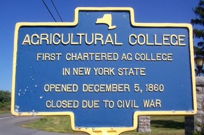 Agricultural College Marker image. Click for full size.