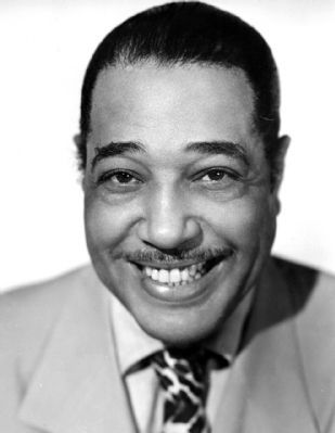 "The ""Duke"", Edward Kennedy Ellington (1899-1974)<br>Pianist, Composer, Bandleader, Jazz Great image. Click for full size."