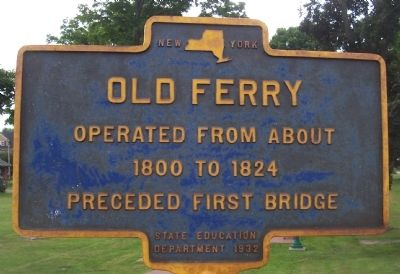 Old Ferry Marker image. Click for full size.