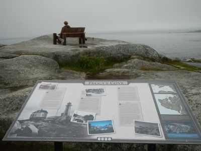 Peggy's Cove Marker image. Click for full size.