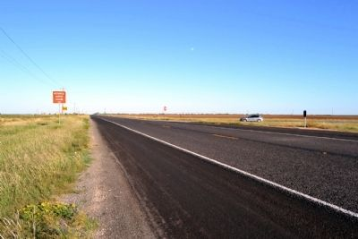 View to East Along State Highway 153 image. Click for full size.
