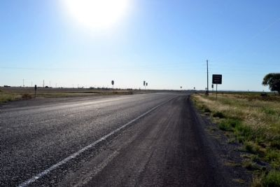 View to West Along State Highway 153 image. Click for full size.