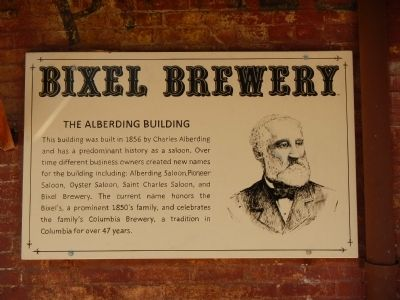 Bixel Brewery Marker image. Click for full size.