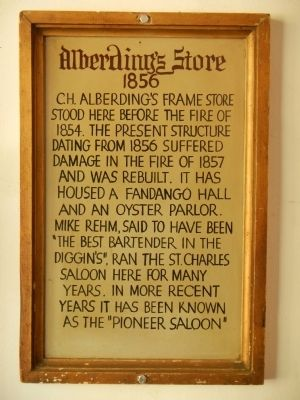 Plaque inside the Bixel Brewery image. Click for full size.