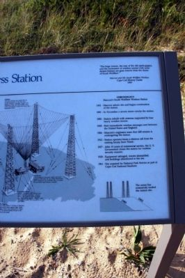 Marconi Wireless Station Marker image. Click for full size.