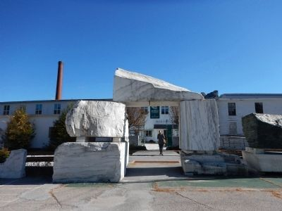 Entrance of Vermont Marble Exhibit and Museum image. Click for full size.
