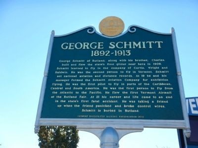 George Schmitt Marker image. Click for full size.