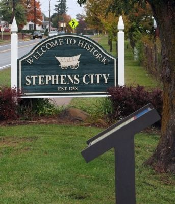 Welcome to Stephens City, Established 1758 image. Click for full size.
