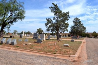 Masonic Section of Abilene Municipal Cemetery image. Click for full size.