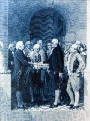 The Inauguration of George Washington<br>on April 30, 1789 image. Click for full size.