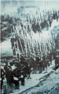 The 9th Vermont Infantry on the march image. Click for full size.