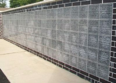 Marshall County Veterans Memorial Veterans Tiles image. Click for full size.