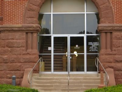 Cass County Courthouse image. Click for full size.