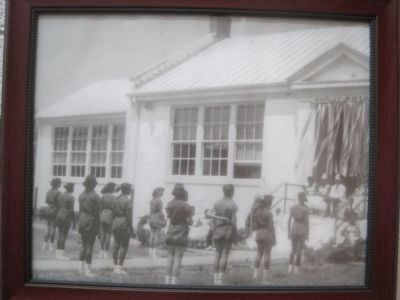 Historical Photograph of the Stafford Training School image. Click for full size.
