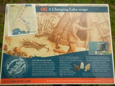 A Changing Lake-scape Marker image. Click for full size.