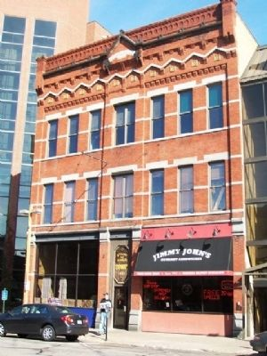 McClure & Searle Building and Marker image. Click for full size.